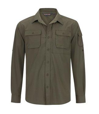 Life-Line Malton heren overhemd - Groen