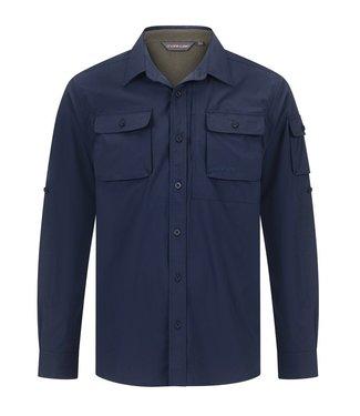 Life-Line Malton heren overhemd - Navy