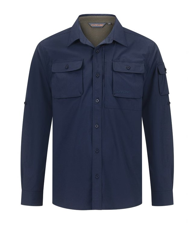 Life-Line Malton Herrenhemd - Navy