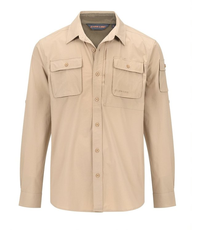 Life-Line Malton Mens Shirt - Beige