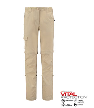 Life-Line Goclin Ladies Zip off Pants - Beige