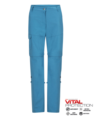 Life-Line June 2 Ladies Zip-Off Trouser - Blue