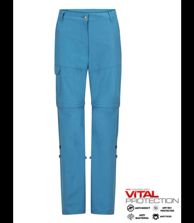 Life-Line June 2 Ladies Zip-Off Trouser - Blue