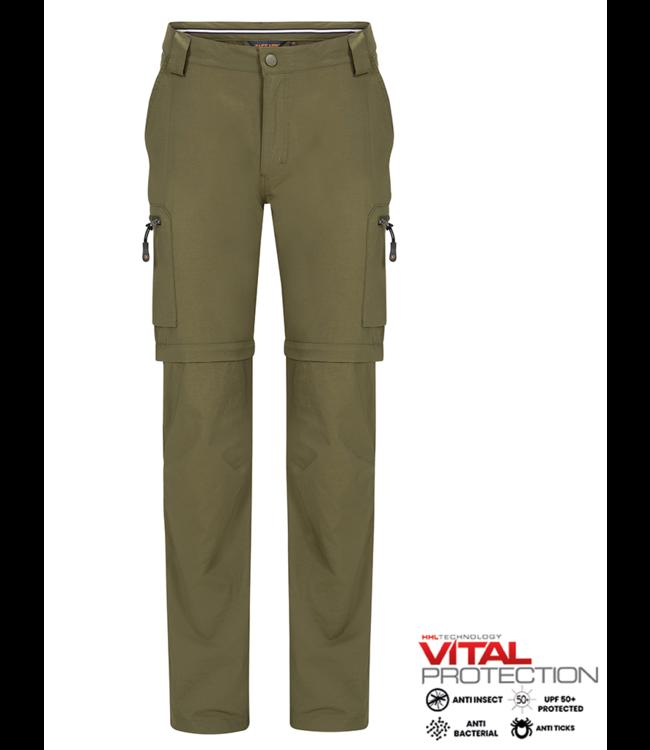 Life-Line Mekong 2 Zip-Off-Hosen für Herren - Grün
