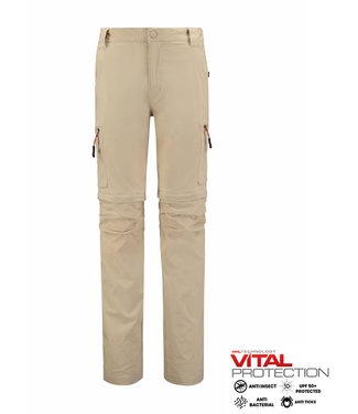 Life-Line Mekong 2 Men's Zip Off Trousers - Beige