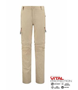 Life-Line Mekong Men's Zip Pants - Beige