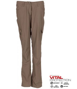 Life-Line Misi Dames Broek taupe