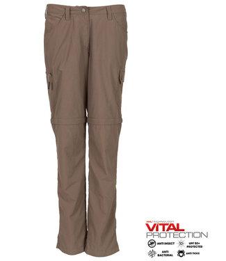 Life-Line Rumi Ladies zip off pants - Taupe