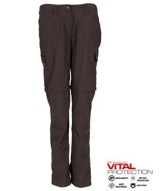 Life-Line Rumi Ladies zip off pants - Grey
