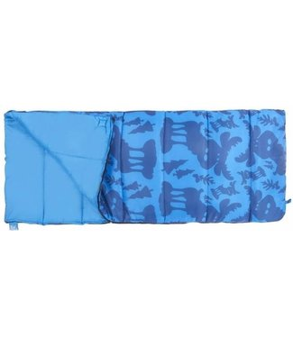 Wenzel Children's Sleeping Bag - Moose Design
