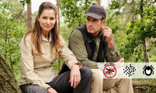 Bescherm jezelf tegen insecten met deze kleding