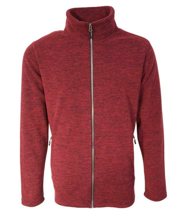 Life-Line Betanzos Heren Fleece Vest - Rood