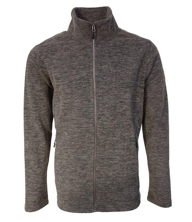 Life-Line Betanzos Men's Fleece Vest - Gray