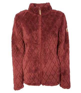 Life-Line Sineo Dames Fleece Vest - Rood