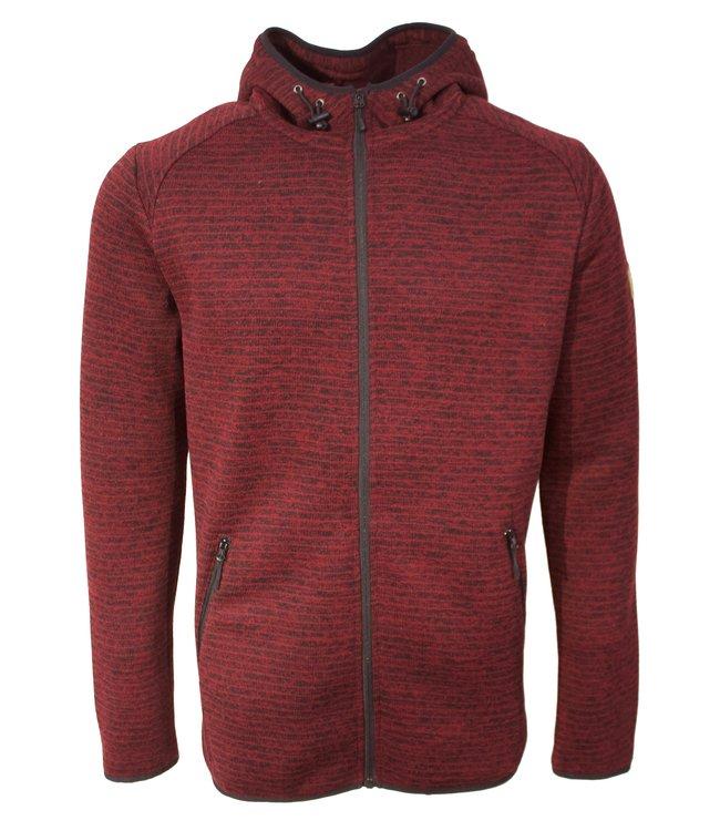 Life-Line Bilbao Heren Fleece Vest - Rood