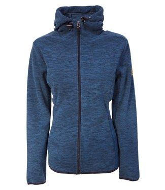 Life-Line Salas Dames Fleece Vest - Blauw