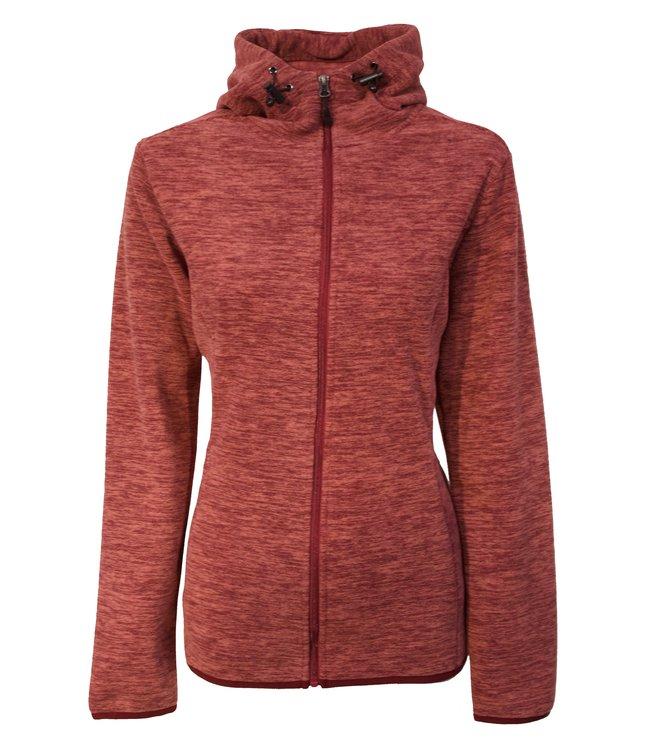 Life-Line Salas Dames Fleece Vest - Rood