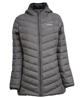 Life-Line Varzim Ladies Fake Down Jacket - Gray