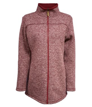 Life-Line Salime Dames Fleece Vest - Rood