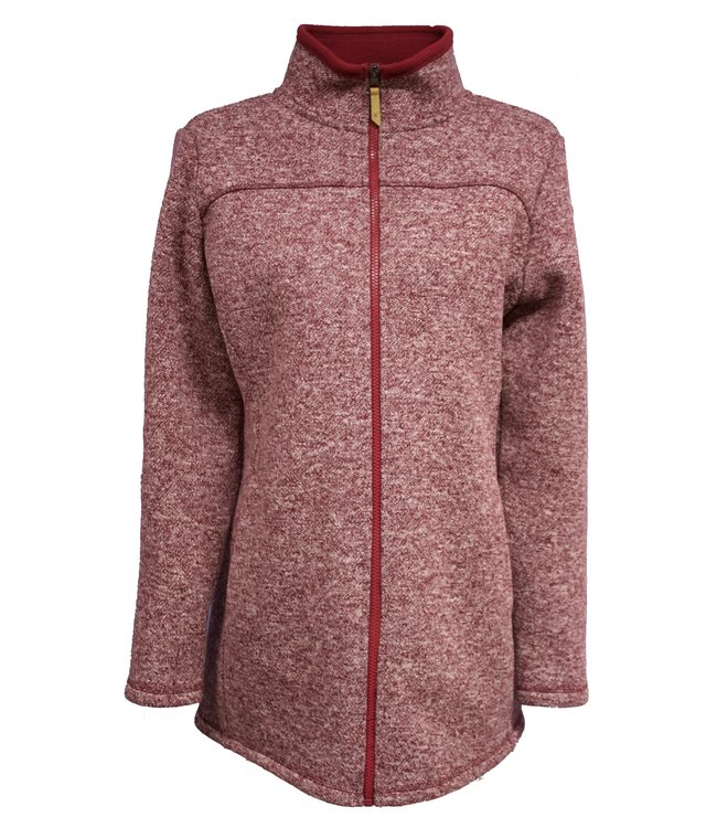 Life-Line Salime Ladies Fleece Vest  - Red