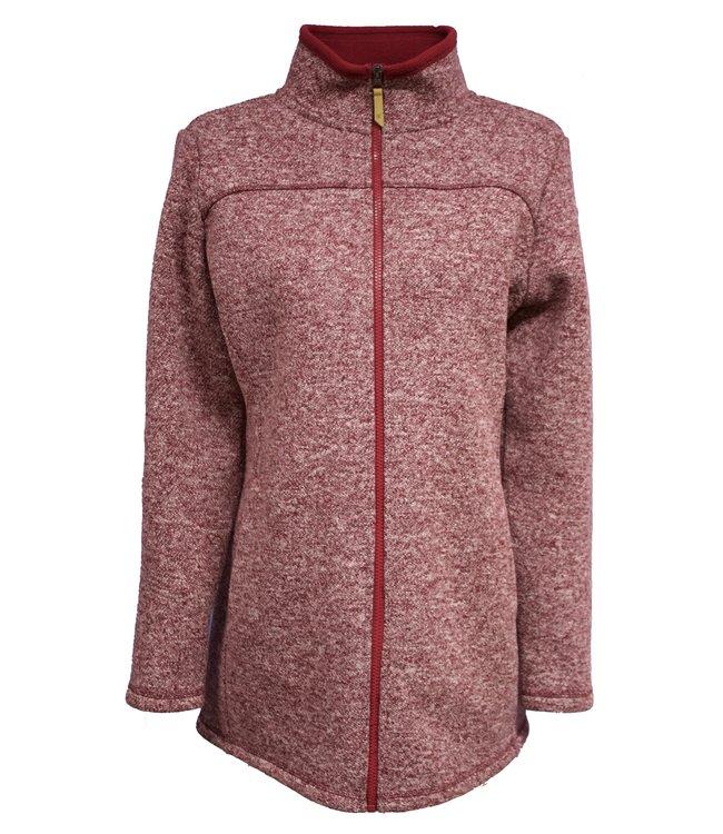 Life-Line Salime Ladies Fleece Vest  - Red