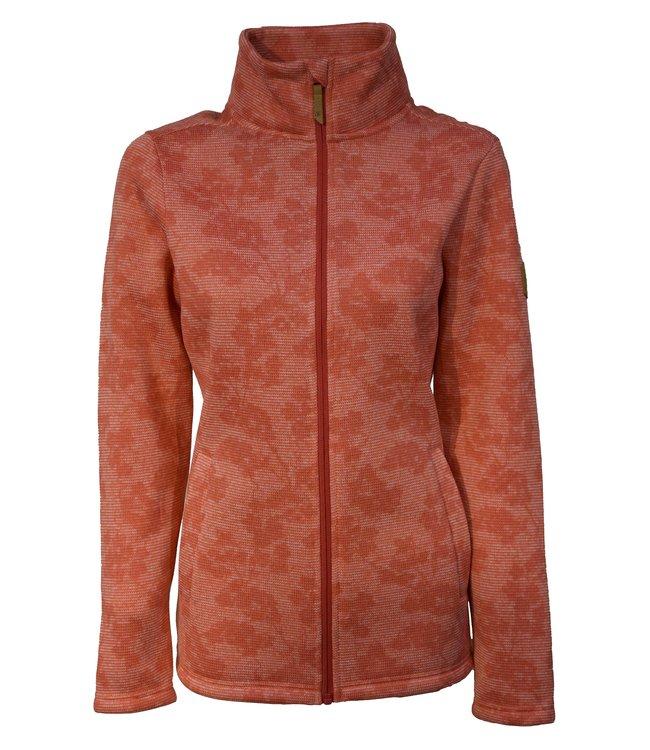Life-Line Somo Dames Fleece Vest - Donkerroze
