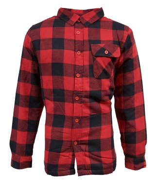 Life-Line Victor Lined Hemd Mens - Red