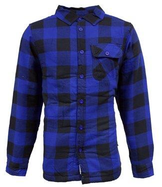 Life-Line Victor Lined Hemd Mens - Blue