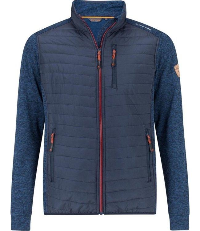 Life-Line Kvardi Men's Fleece Vest - Blue