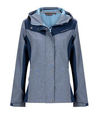 Life-Line Carmen Ladies Softshell Jacke - Blau