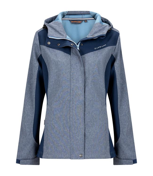 Life-Line Carmen Ladies Softshell Jacket - Blue