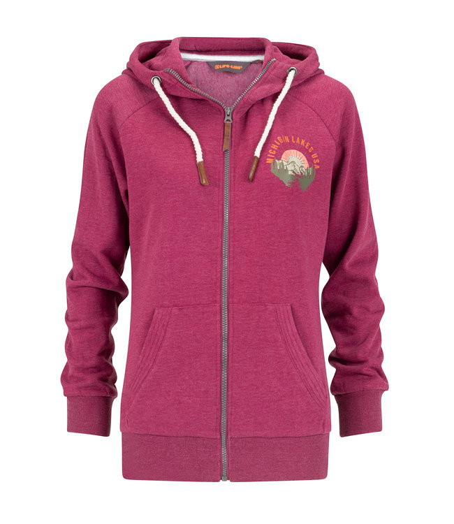 Life-Line Daisy Ladies Fleece Weste - Rosa