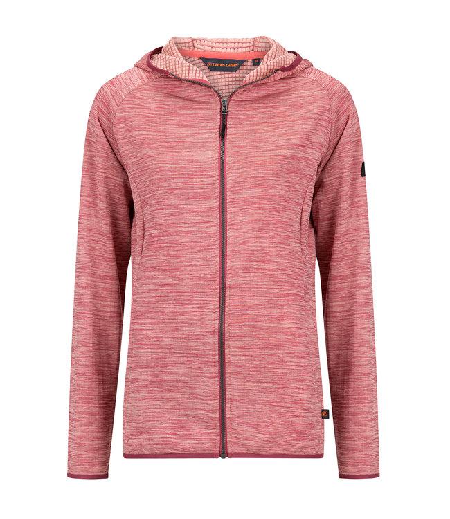 Life-Line Demy Dames Fleece Vest - Roze