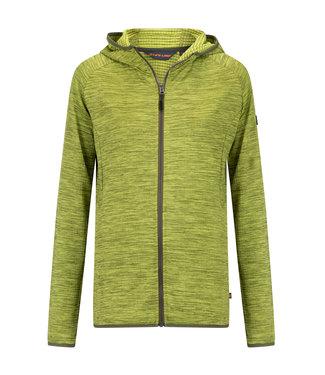 Life-Line Demy Dames Fleece Vest - Lime
