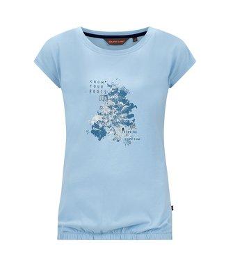 Life-Line Nena Dames T-Shirt - Lichtblauw