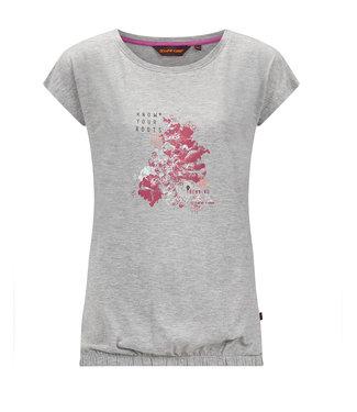 Life-Line Nena Ladies T-Shirt - Gray