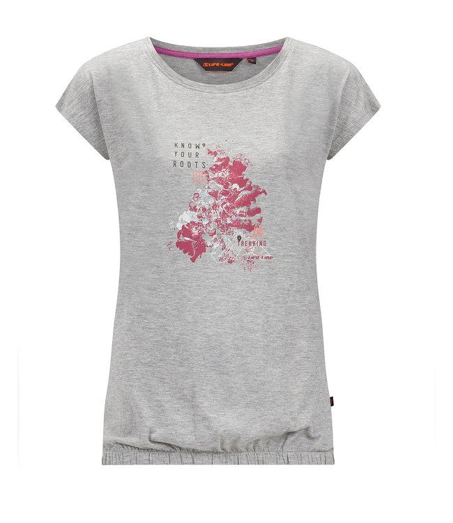Life-Line Nena Damen T-Shirt - Grau