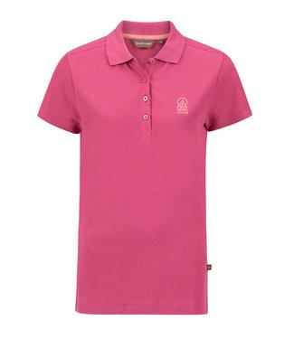 Life-Line Natali Dames Polo Shirt - Donker Roze