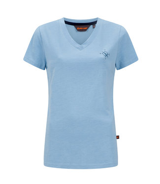 Life-Line Nicky Dames T-shirt - Lichtblauw