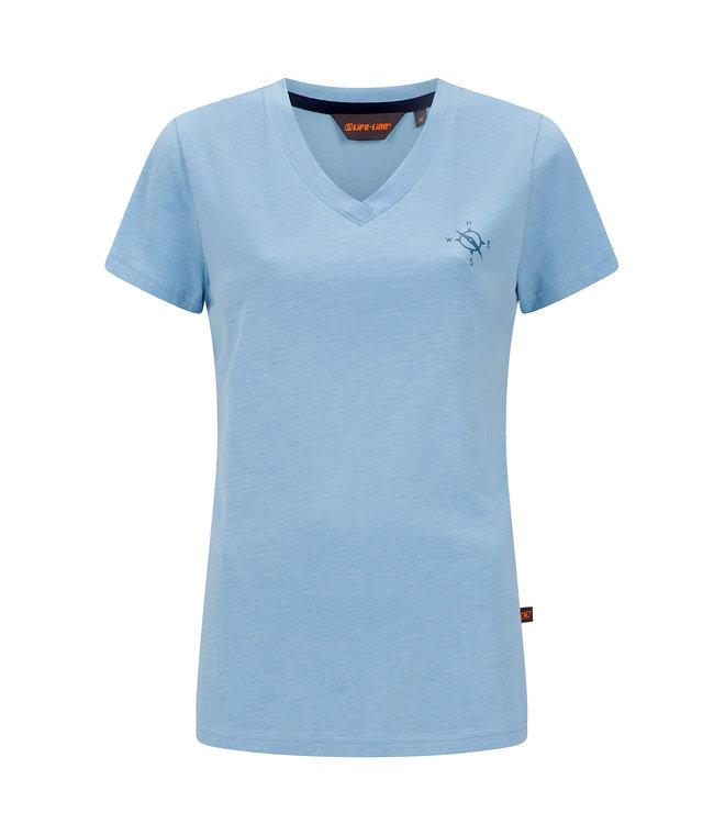 Life-Line Nicky Ladies T-shirt - Light Blue