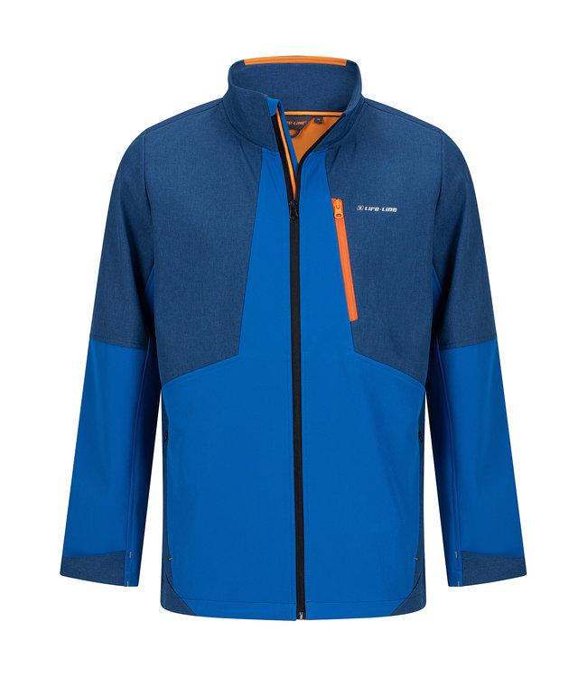 Life-Line Collin Men's Softshell Jacket - Blue
