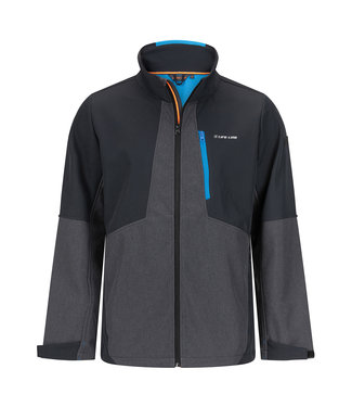 Life-Line Collin Men's Softshell Jacket - Black