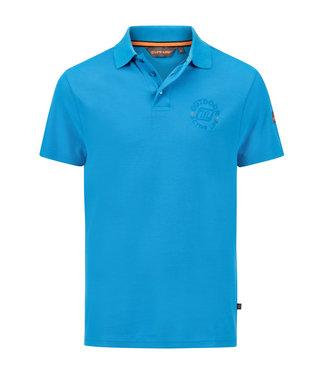 Life-Line Noah Herren Poloshirt - Blau