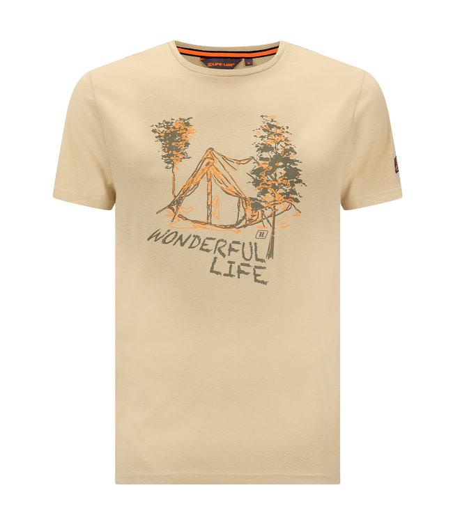 Life-Line Niels Herren T-Shirt - Olive
