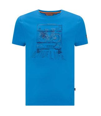 Life-Line Niels Heren T-shirt - Blauw