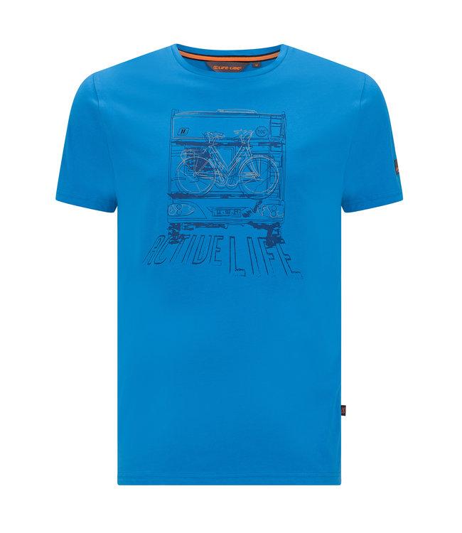 Life-Line Niels Herren T-Shirt - Blau