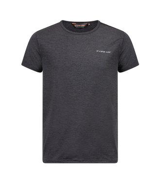 Life-Line Nelson Heren T-shirt - Donkergrijs