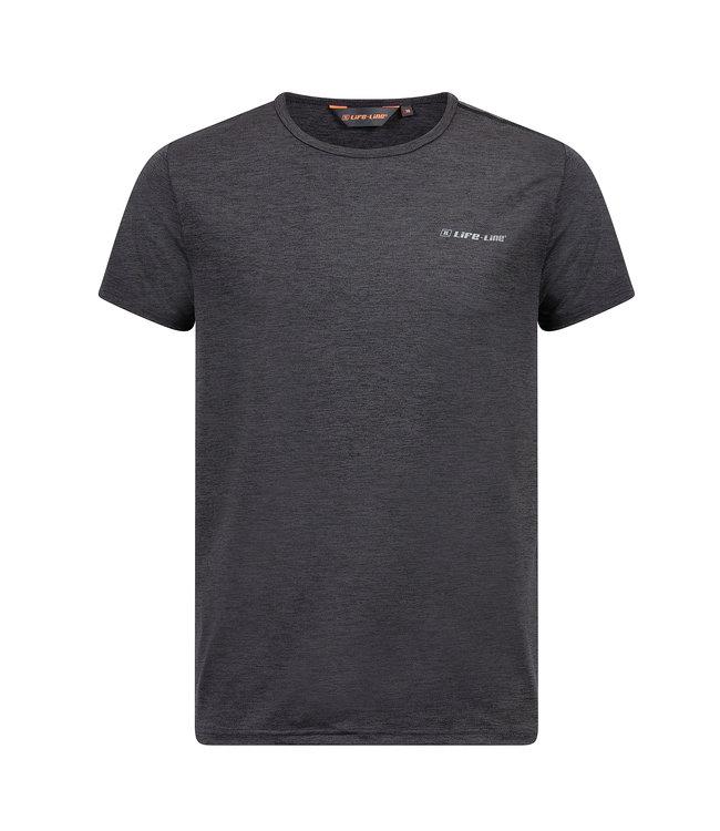 Life-Line Nelson Herren T-Shirt - Dunkelgrau