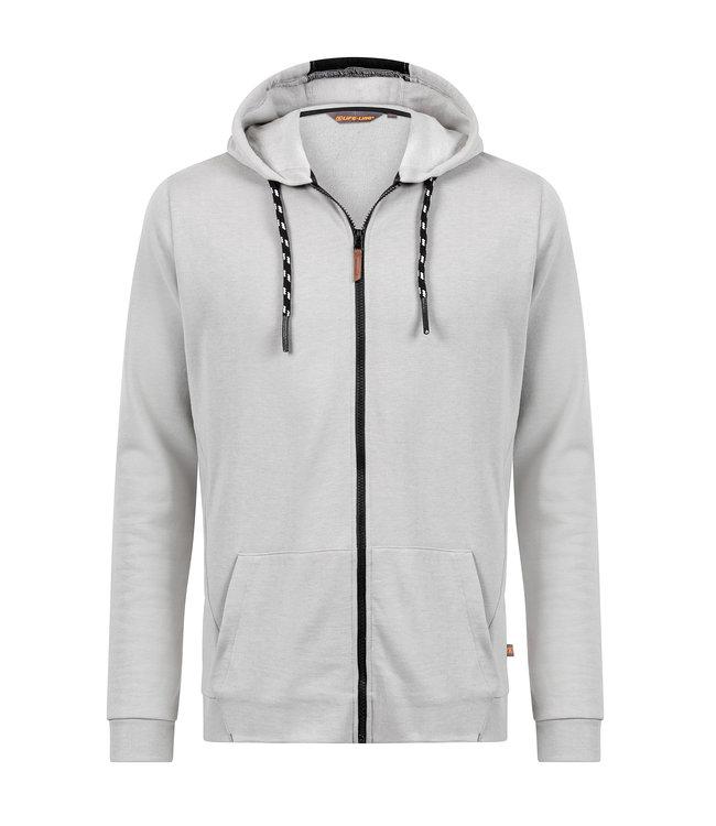 Life-Line David Men's Fleece Vest - Gray