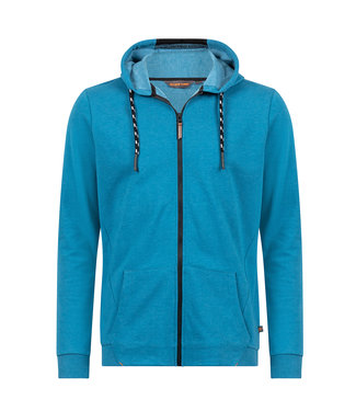 Life-Line David Herren Fleece Weste - Blau